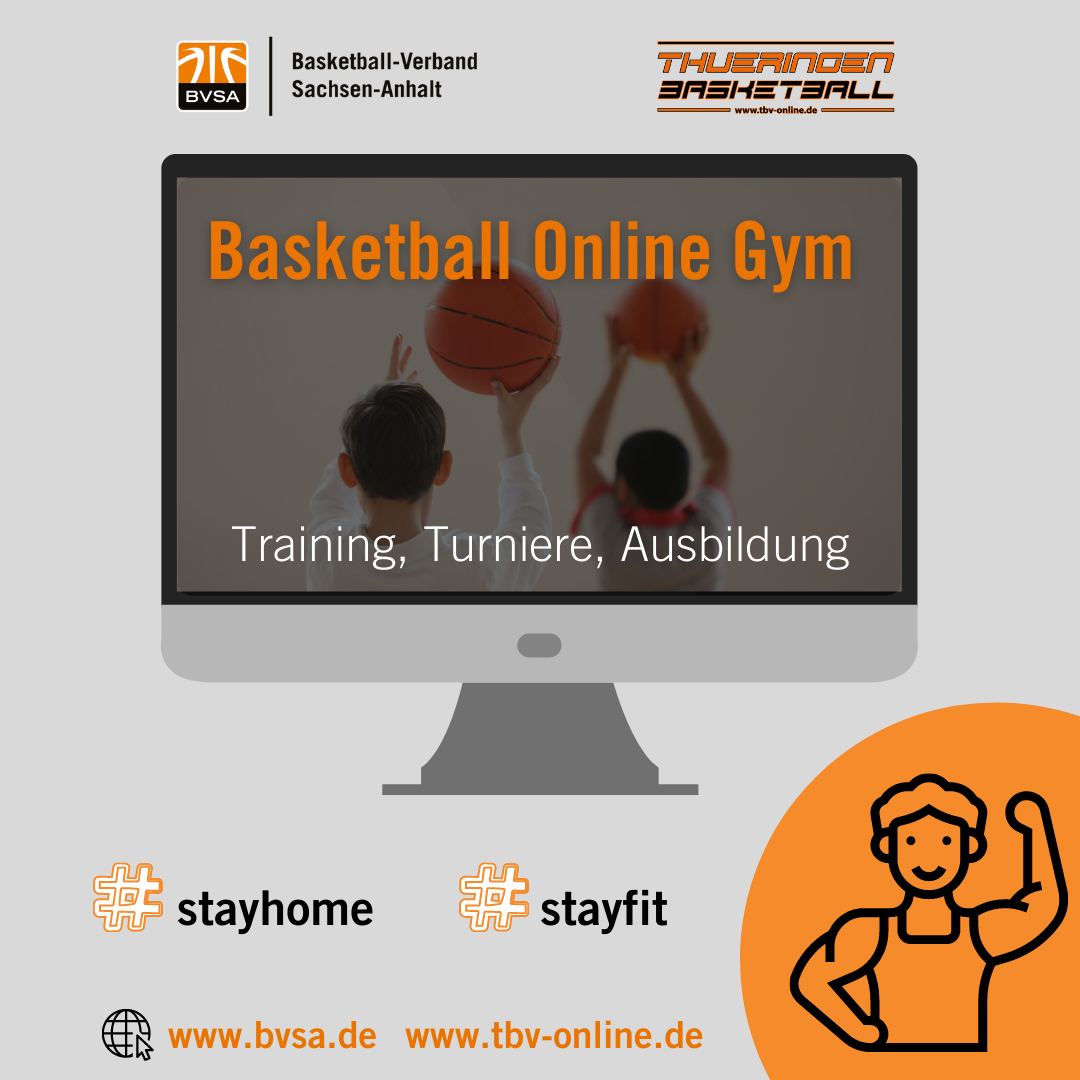 Basketball Online Gym // Grafik: BVSA